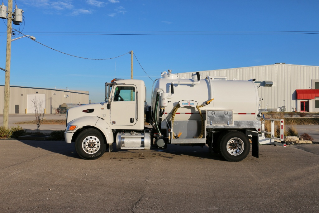 PORT-A-POT TRUCKS - Schellvac Equipment Inc