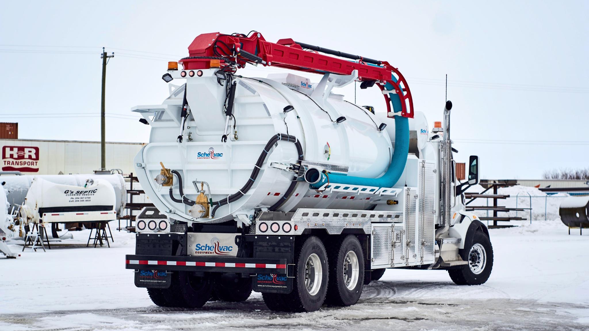 Hydrovac, Hydro Excavator, SPIF Hydrovac, vacuum truck sales